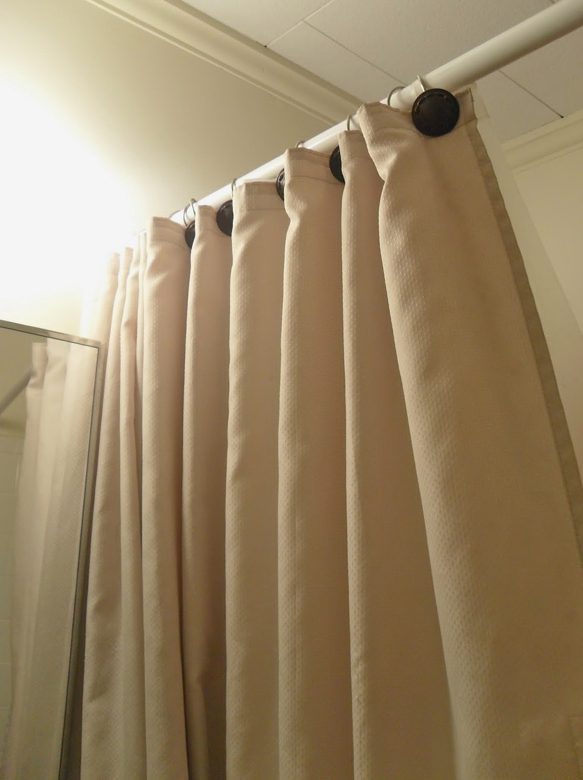 Shower Curtain Tension Rod Target