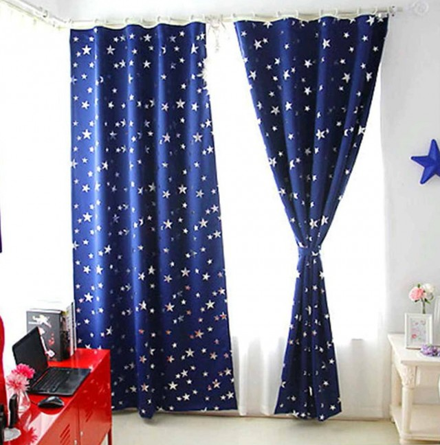 Star Curtains For Kids