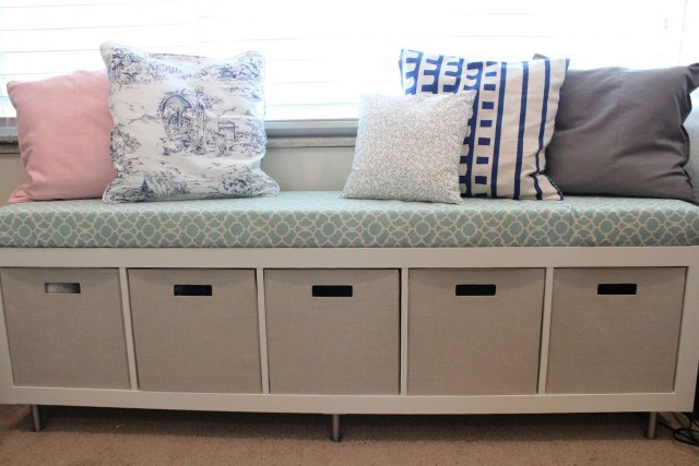 Storage Bench With Cushion Ikea