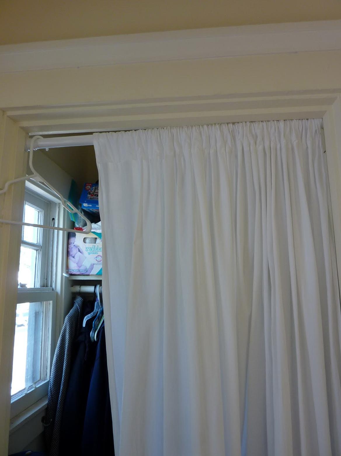 Swing Arm Curtain Rod