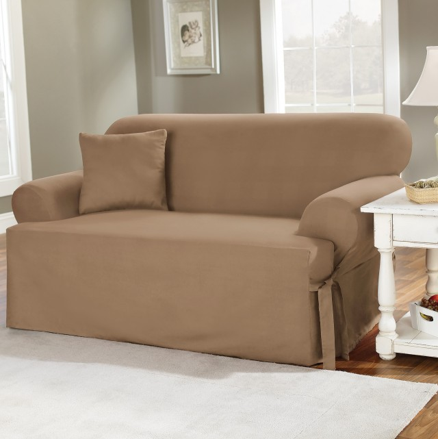 T Cushion Sofa Slipcovers