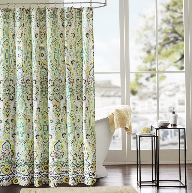 Unique Fabric Shower Curtains