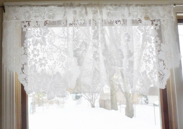 Vintage Lace Curtains Ebay