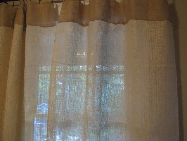 White Cafe Curtains Pottery Barn