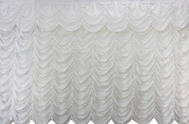 White Crushed Velvet Curtains