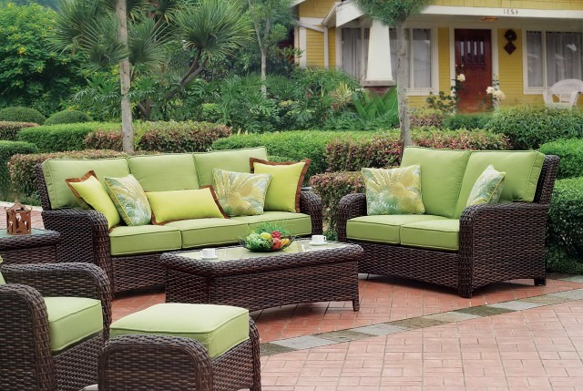 Wicker Furniture Cushions Clearance