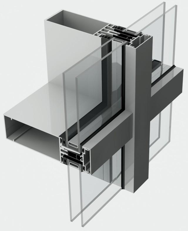 Aluminium Curtain Wall Design