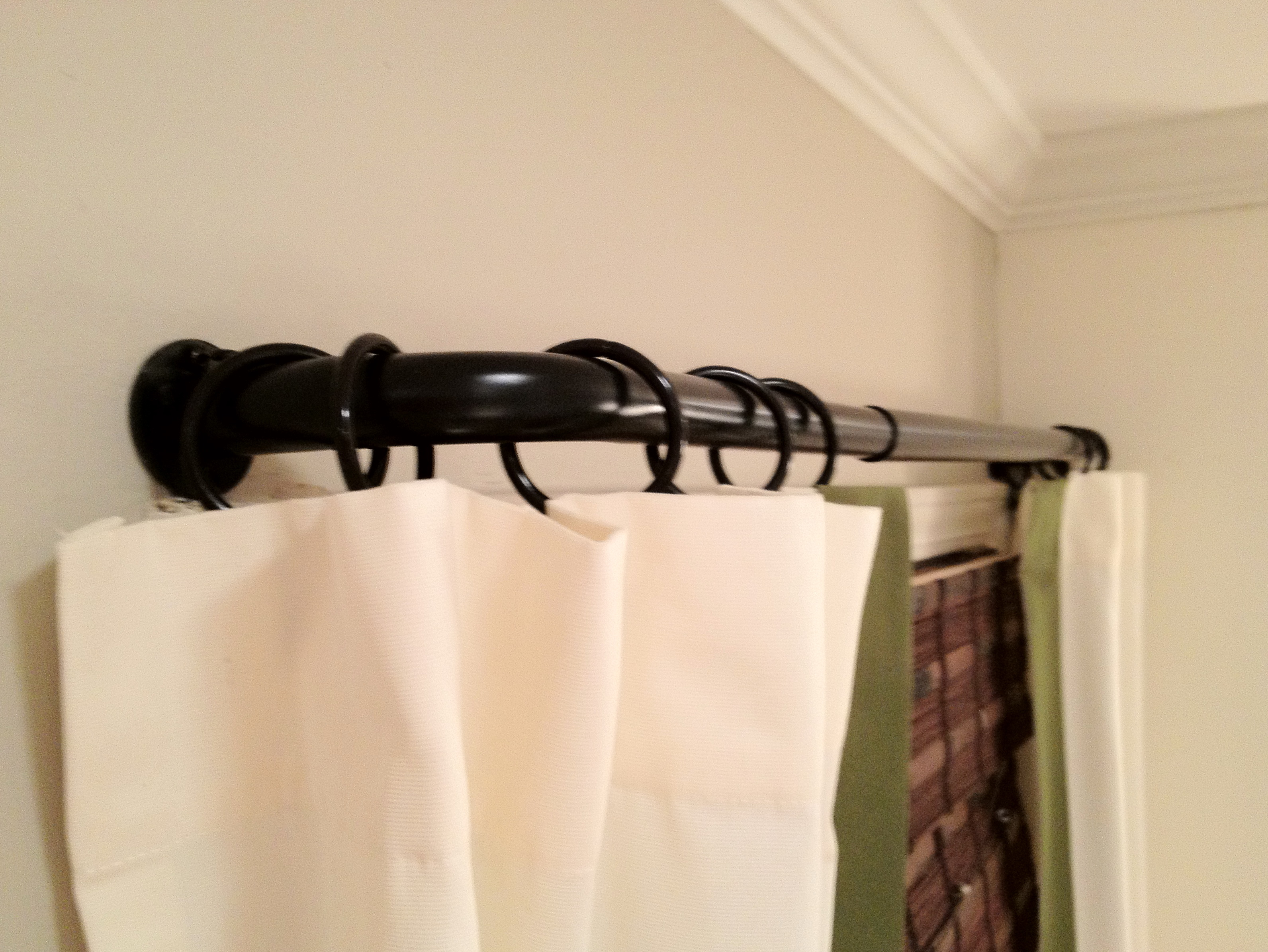 Arched Window Curtain Rods Curved