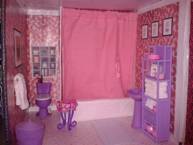 Barbie Shower Curtain