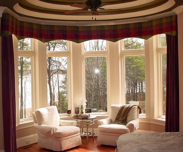Bay Window Curtains For Living Room
