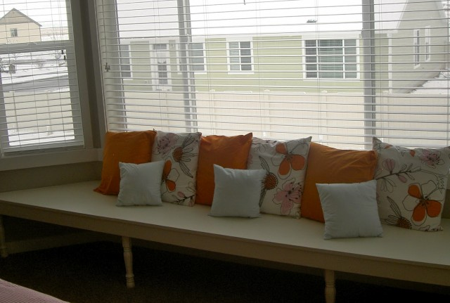 Bay Window Cushion Diy