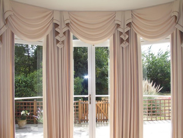 Big Window Curtains Ideas