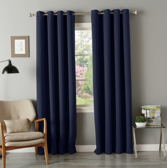 Blackout Thermal Curtains Drapes