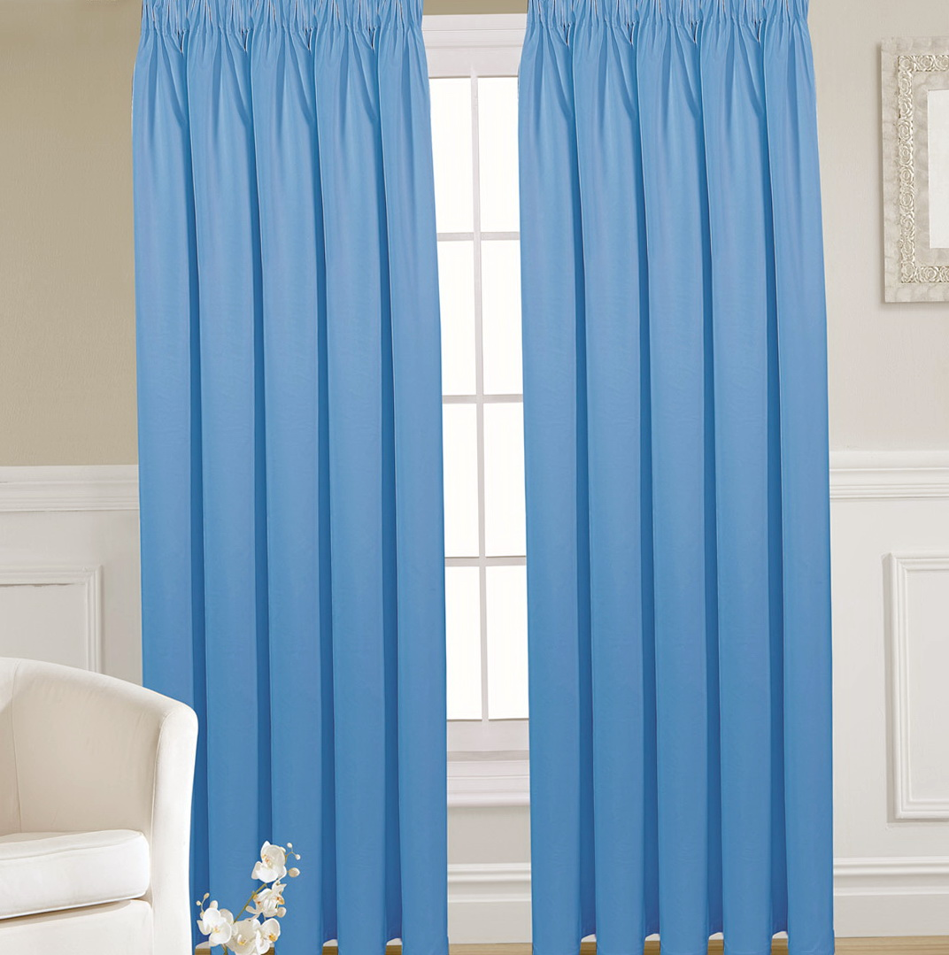 Blackout Thermal Curtains Pencil Pleat