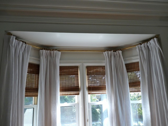Bow Window Curtain Rods Canada