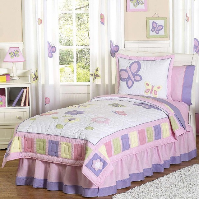 Butterfly Bedding With Matching Curtains