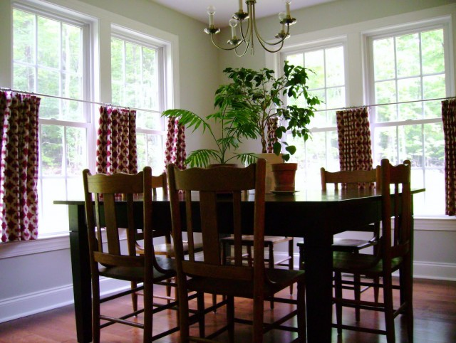 Cafe Curtains For Dining Room