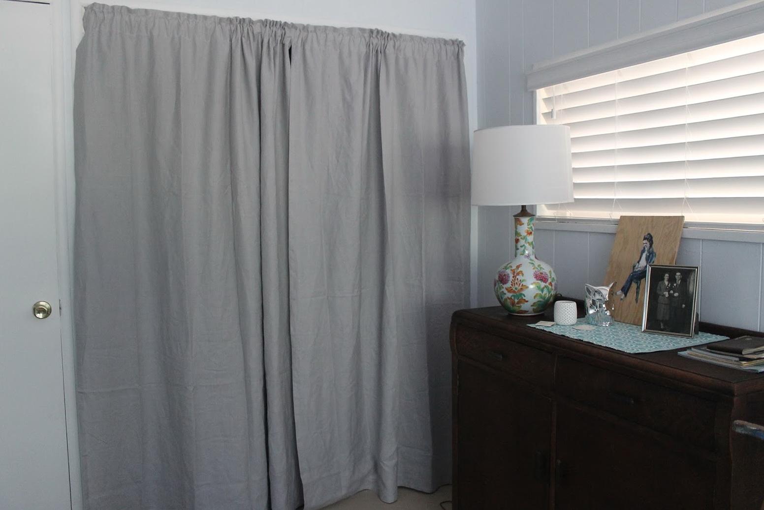 Closet Door Curtains Ikea