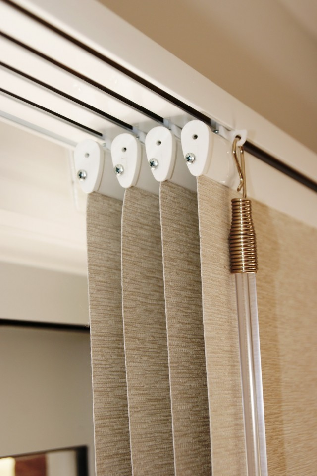 Curtain Track Gliders How To Fit