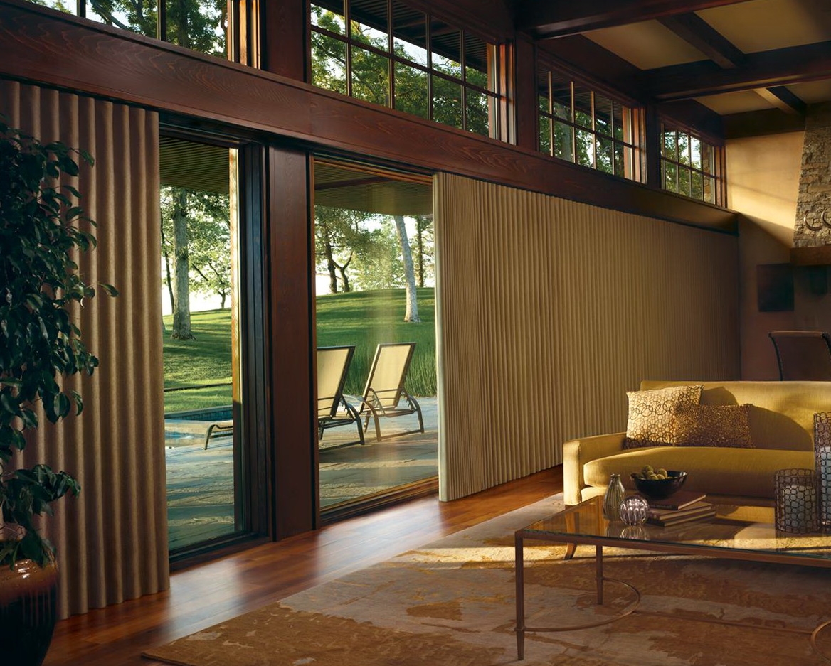 Curtain Treatments For Sliding Glass Doors