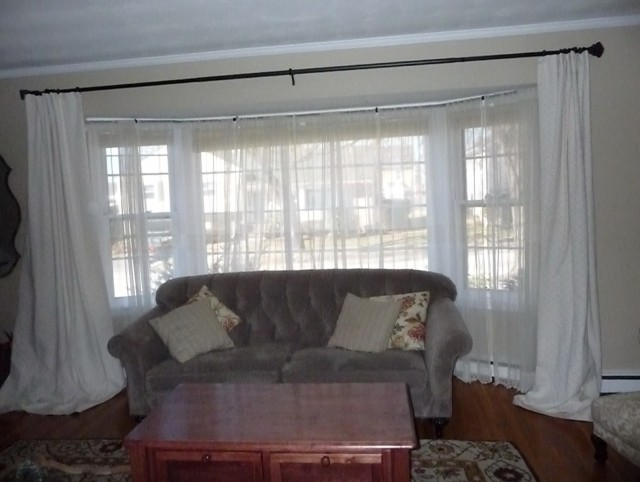 Curtains For Big Bay Windows