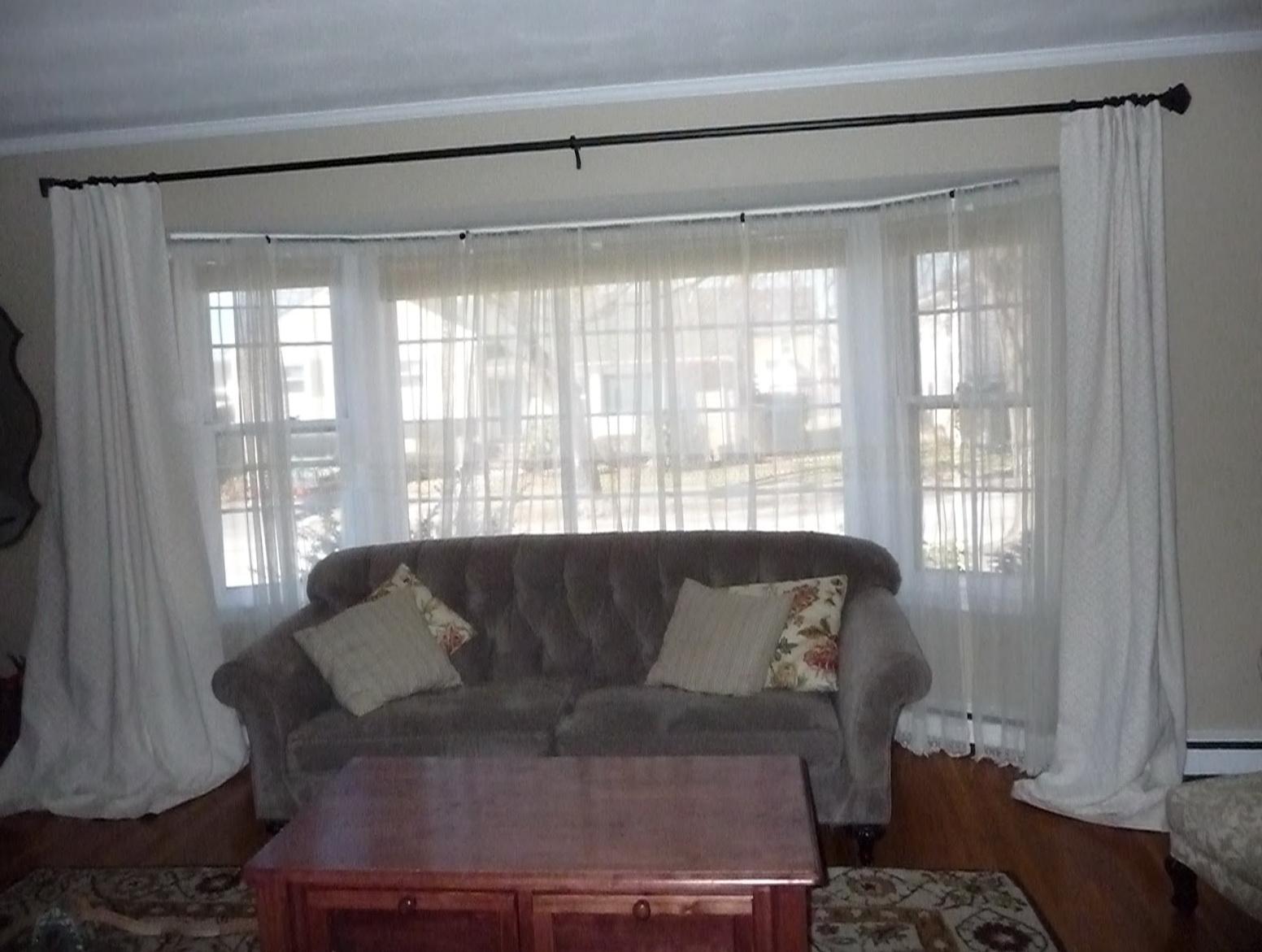 Curtains For Big Bay Windows