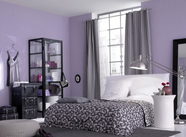 Curtains For Light Purple Walls