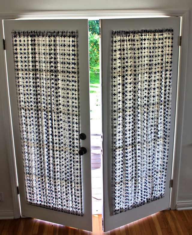 Curtains On Interior French Doors
