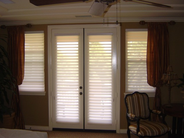 Curtains Or Blinds For French Doors