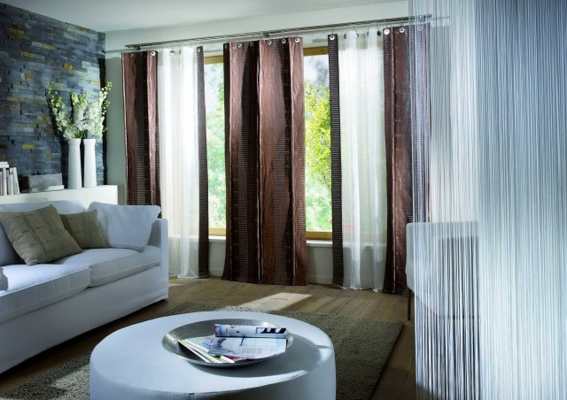 Curtains Or Blinds In Living Room
