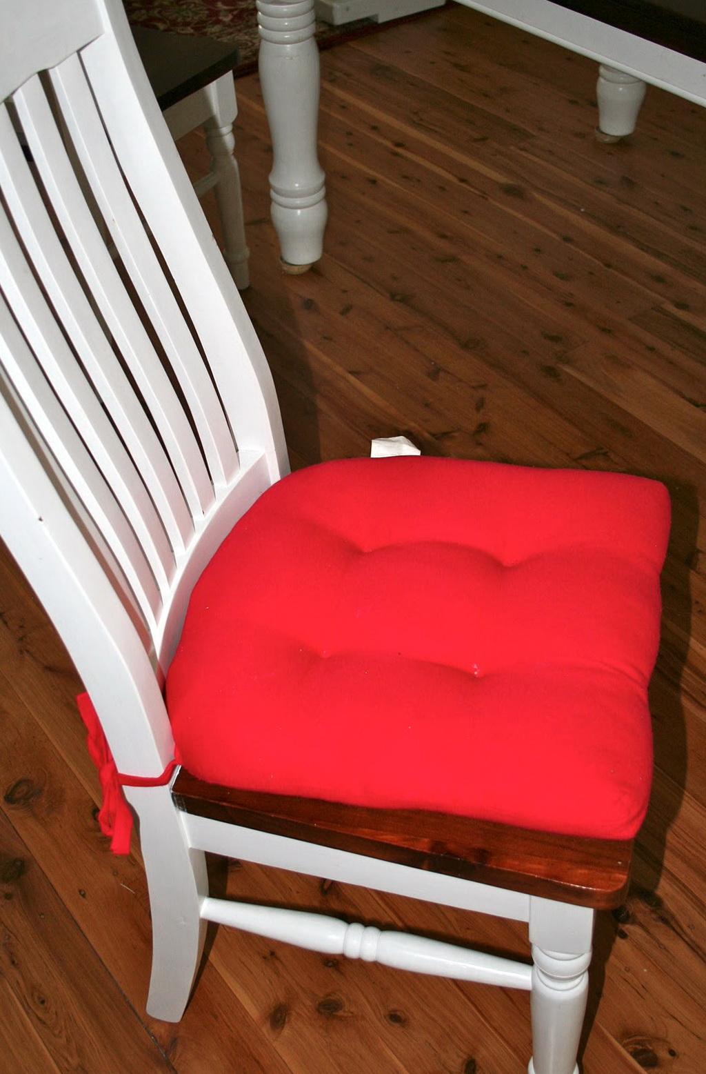 Diy Chair Cushions With Ties