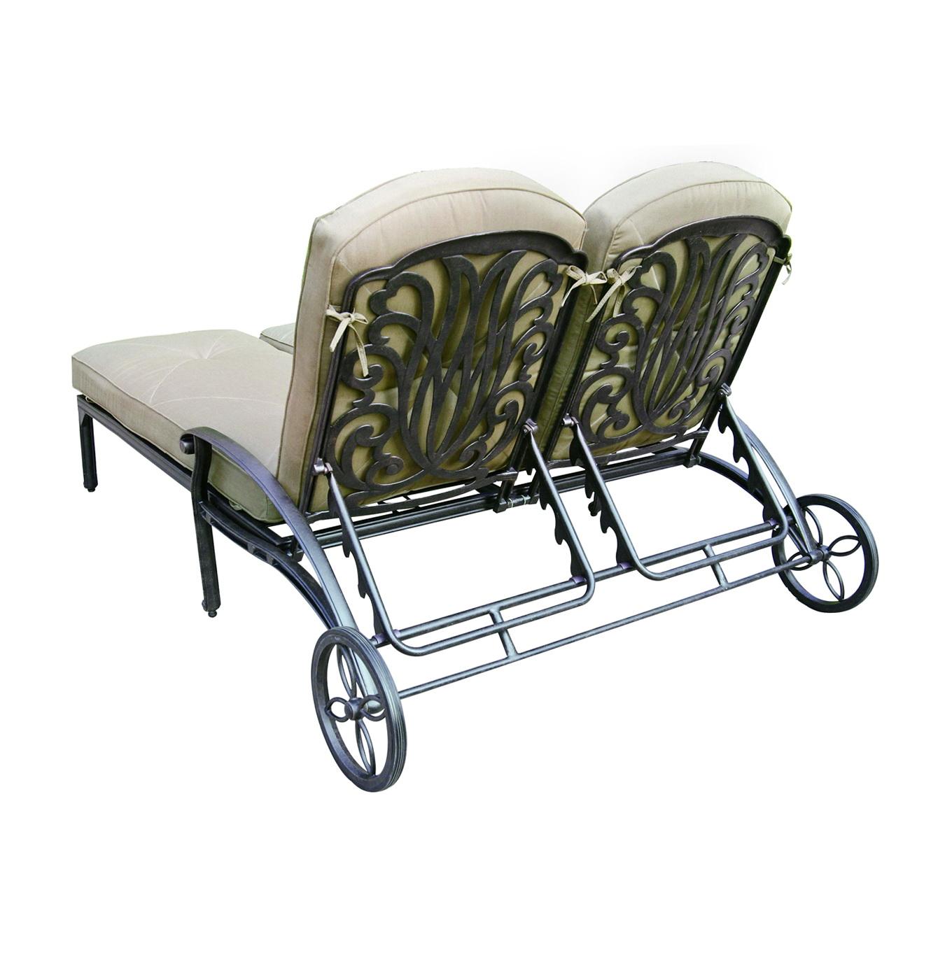 Double Chaise Lounge Cushions Walmart