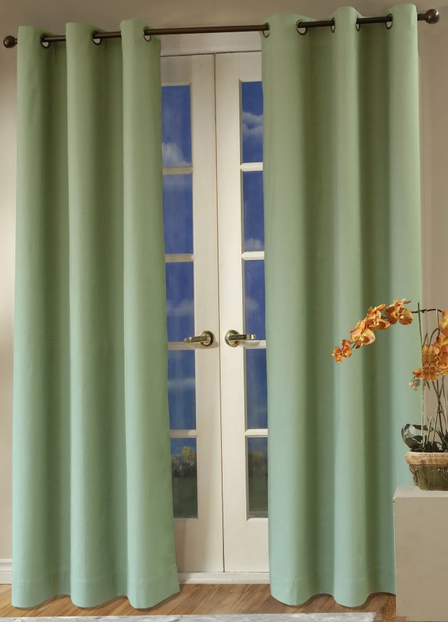 Double Wide Curtains Grommets