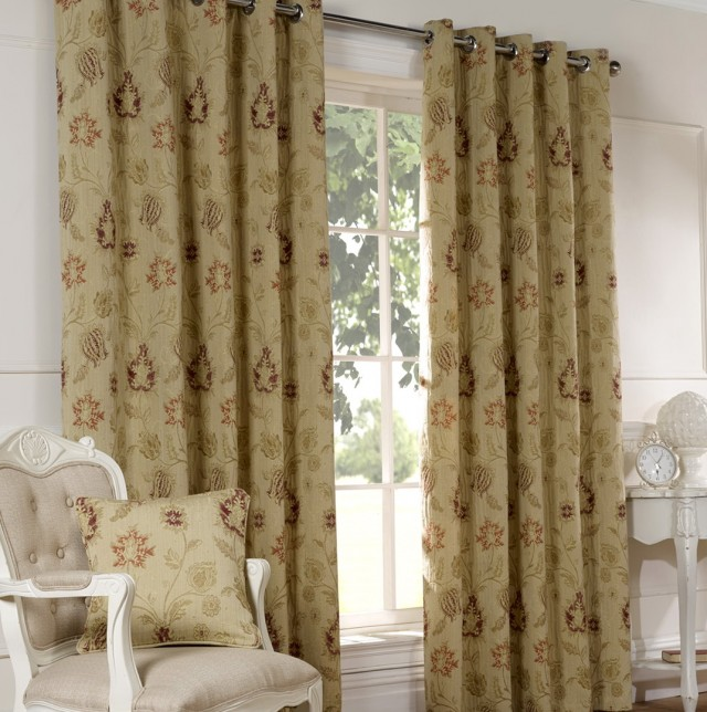 Eyelet Ring Top Curtains