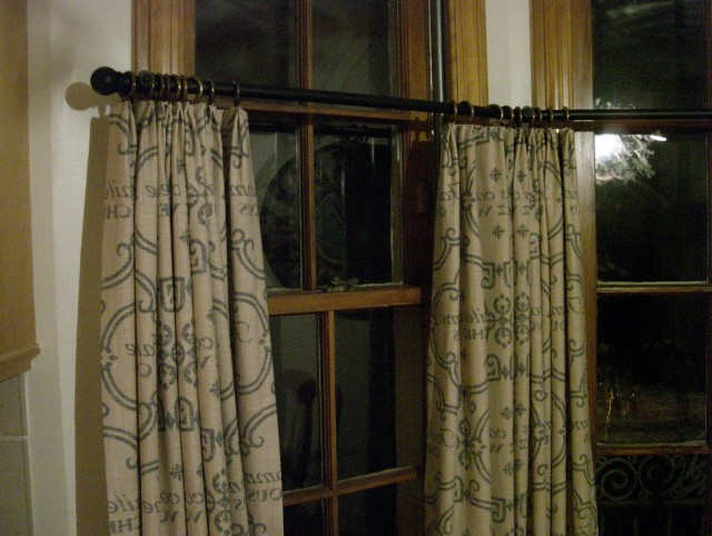 French Linen Cafe Curtains