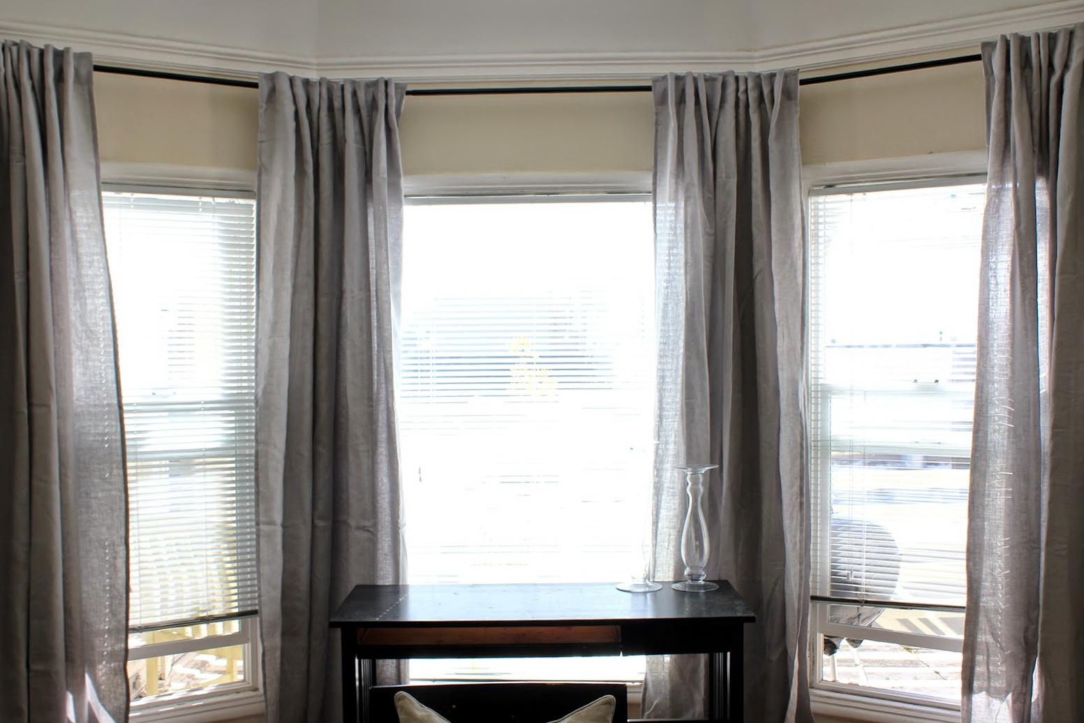 Grey Linen Curtains Ikea