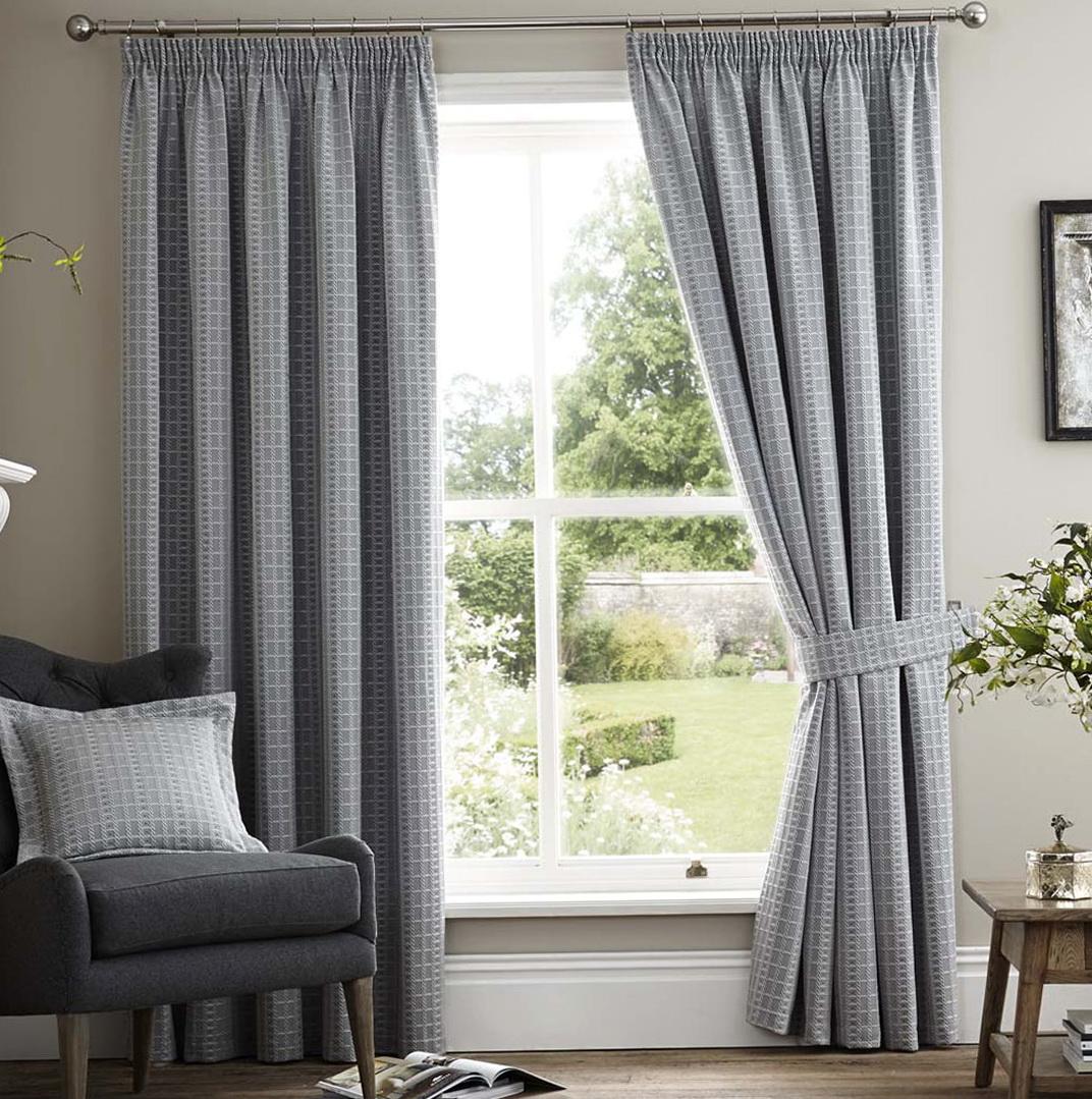 Grey Linen Curtains Uk