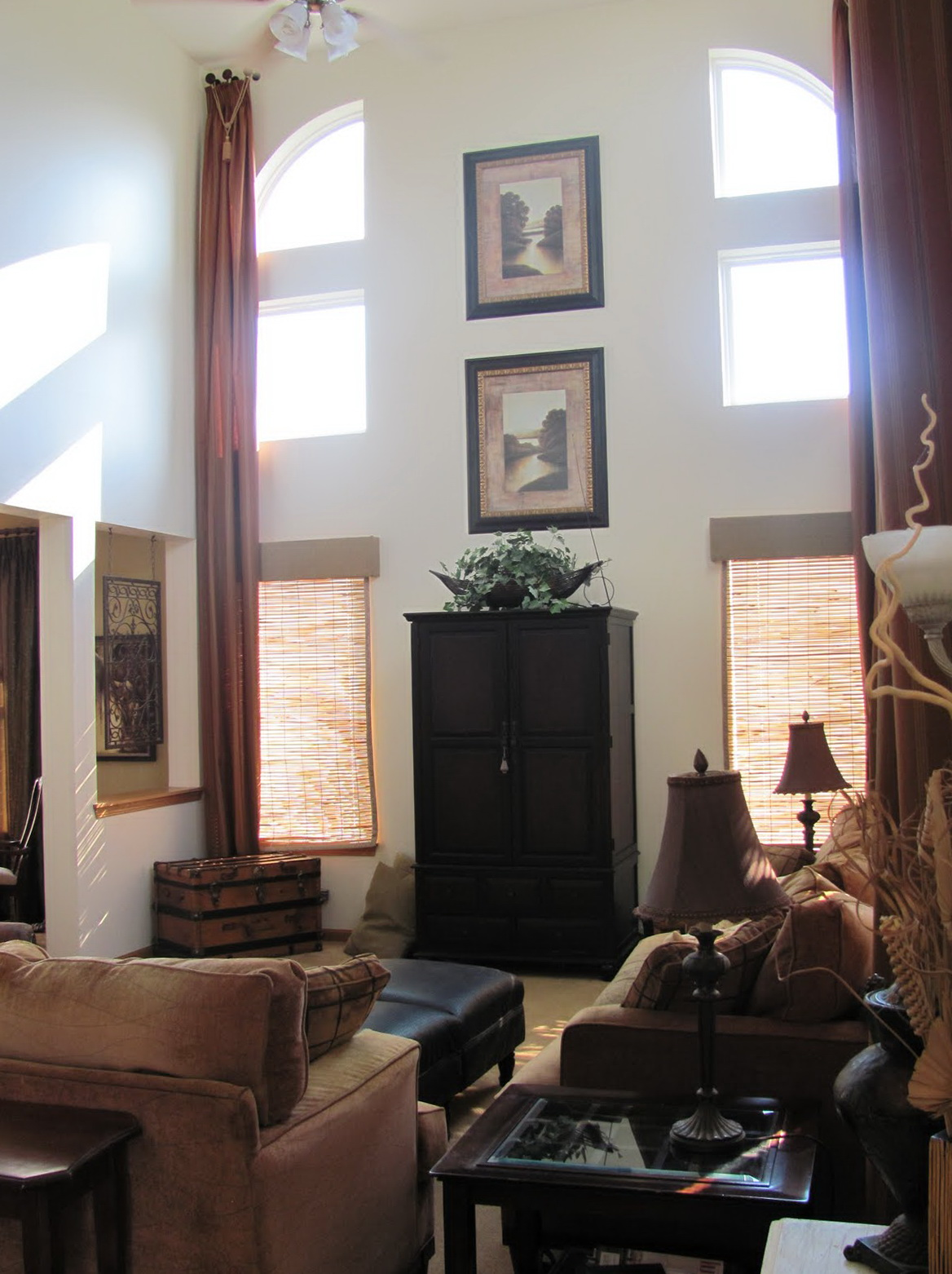 High Ceiling Curtains For Sale