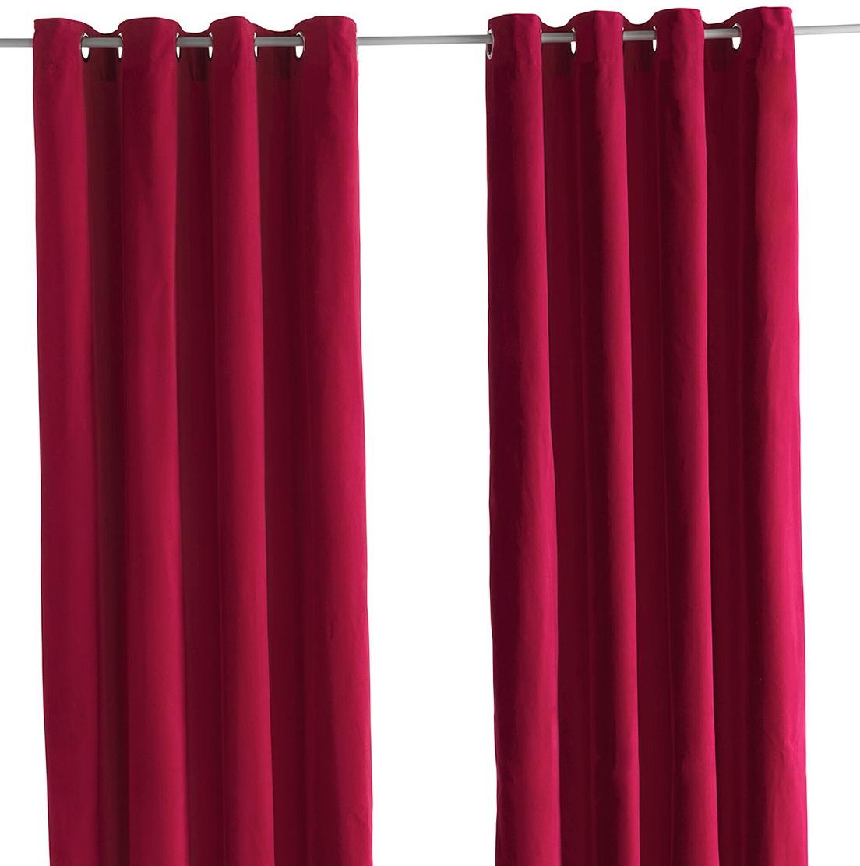 Ikea Sanela Velvet Curtains