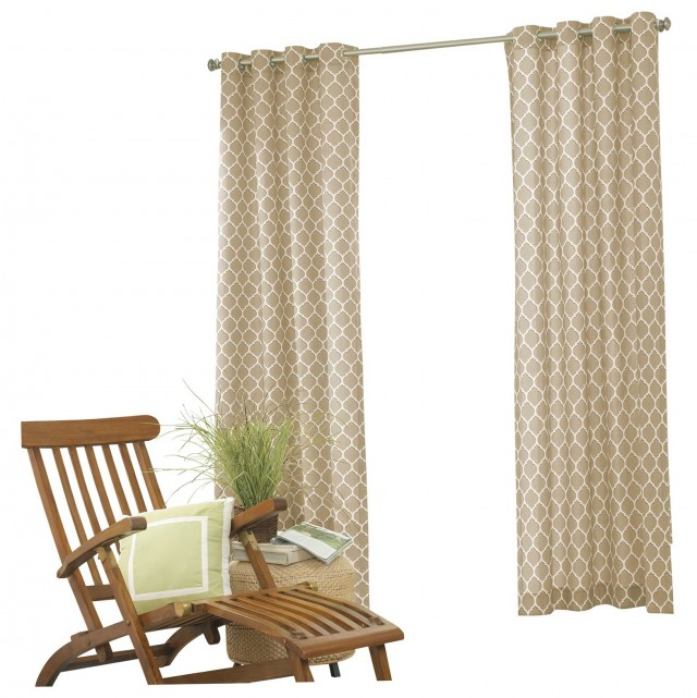 Indoor Outdoor Curtains Grommets