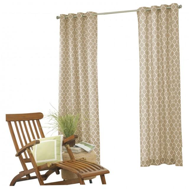 Indoor Outdoor Curtains Grommets