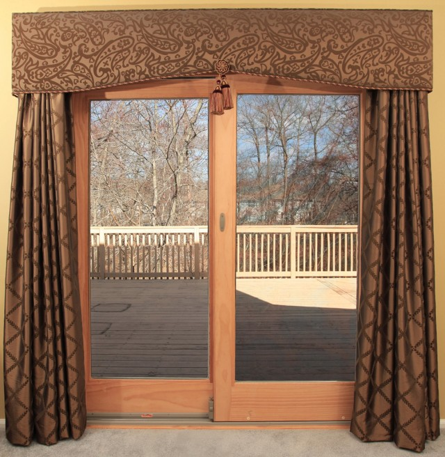 Kitchen Patio Door Curtain Ideas