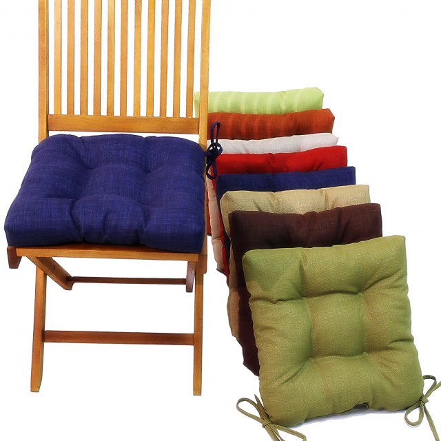 Kitchen Seat Cushions With Ties