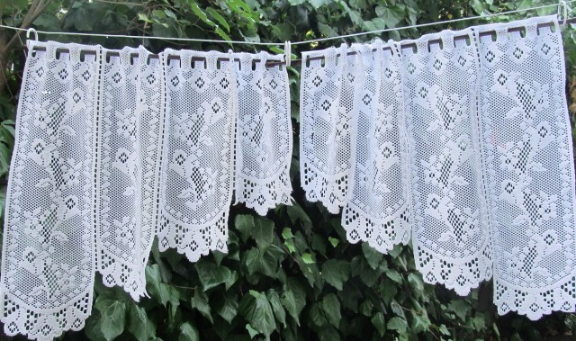 Lace Cafe Curtains Kitchen