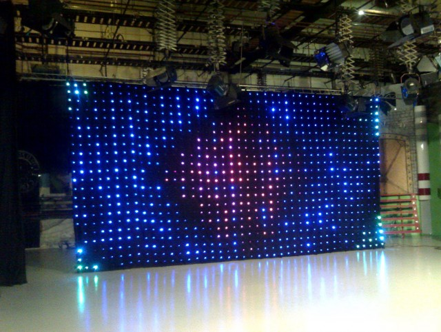 Led Video Curtain For Sale