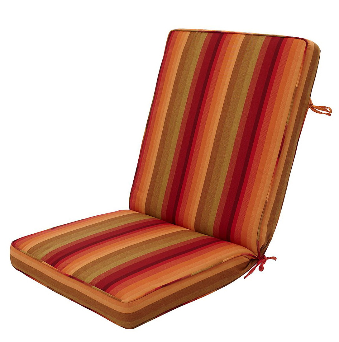 Lounge Chair Cushion Storage