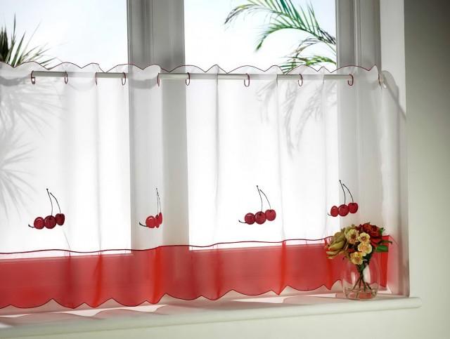 Modern Cafe Curtains Kitchen