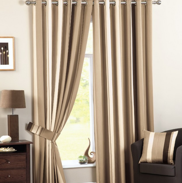 Natural Linen Curtains Ready Made