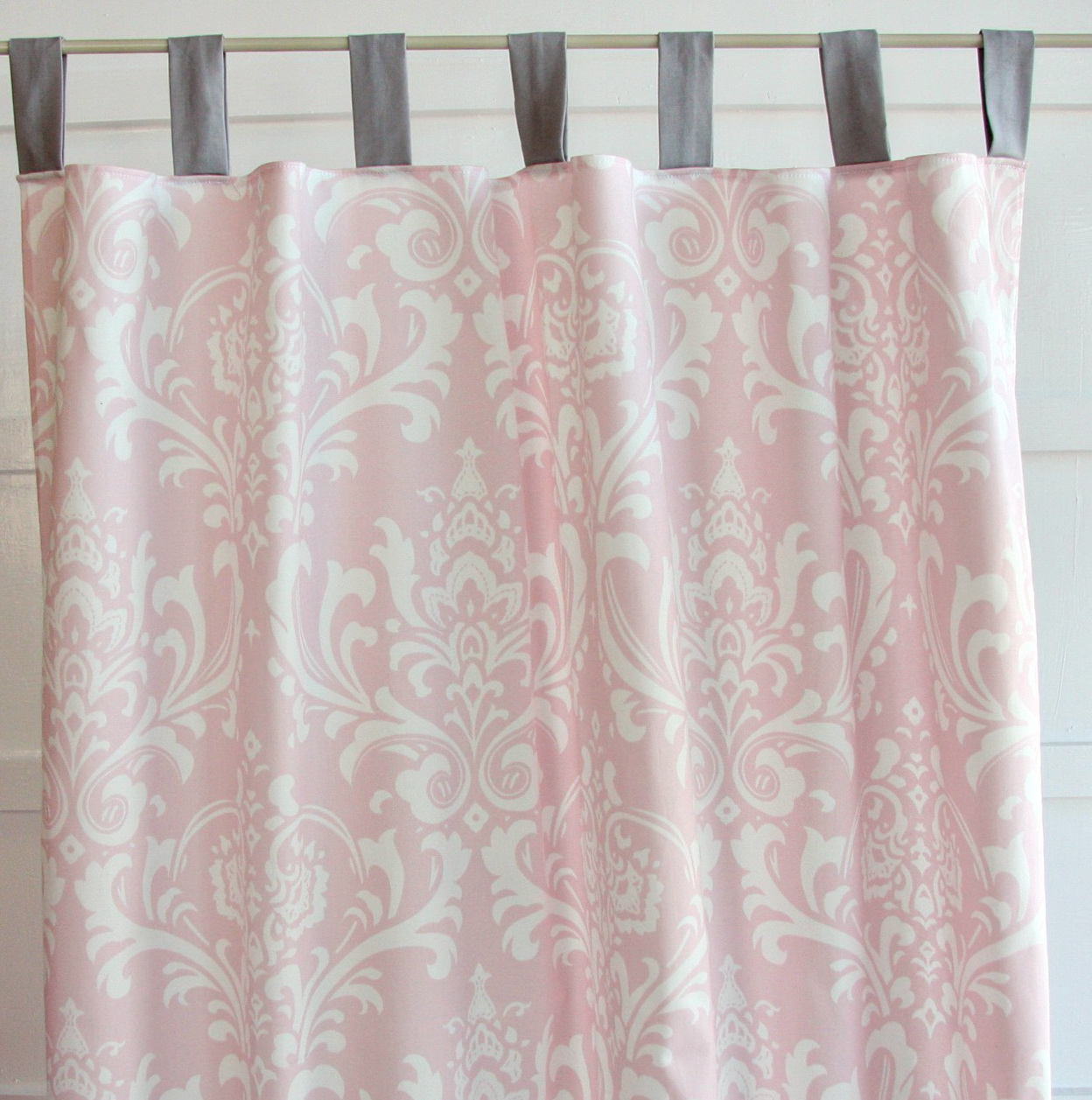Pink And Grey Curtains Uk