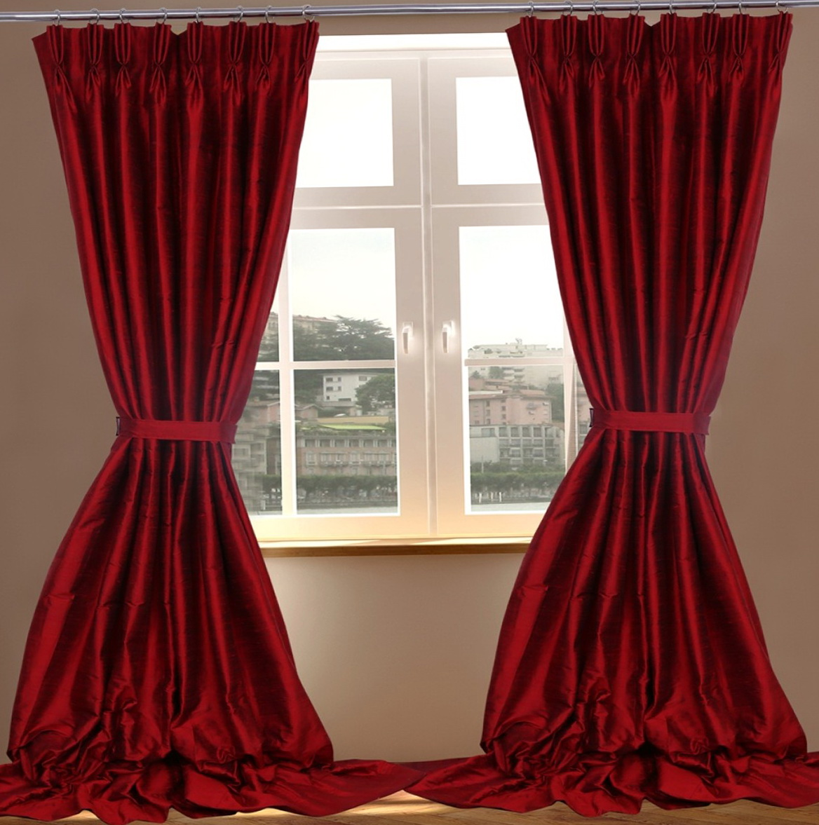 Raw Silk Curtains India